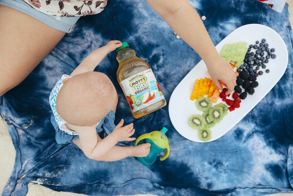 10 Month Old Baby Emmy's Favorite Snacks with Mott's Juice via Chelcey Tate at www.chelceytate.com #ad #sponsored