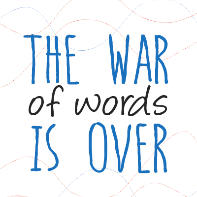 The War of Words is Over Nick Parker The Writer