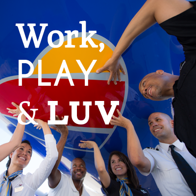 Work Play Amp Luv Customer Intelligence Team Southwest