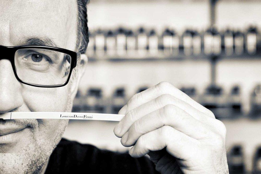 Lorenzo Dante Ferro - Maestro Profumiere - Master PerfumerPerfumes since 1982