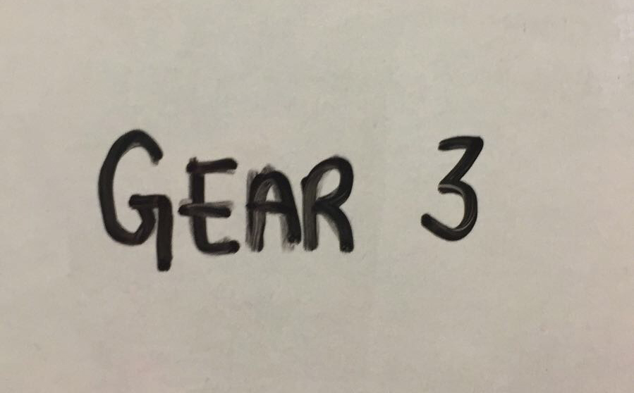 Gear 3 - all out, aim for unbroken or very close to that.