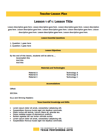Instructional Templates - I created these templates for use in all of our instructional deliverables. Templates include materials for teachers, printable student activities, and materials for presentations for schools, administrators, and donors. All templates adhere to our brand standards while organizing instruction and context in an easy-to-read, engaging format.