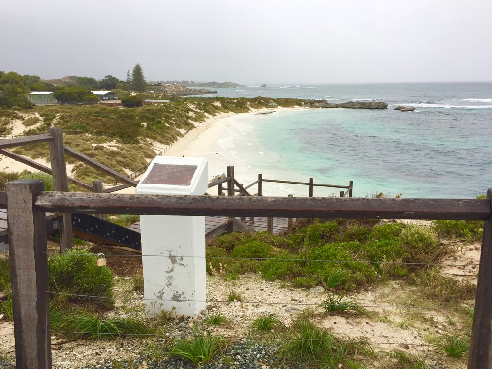 A view of Rottnest Island