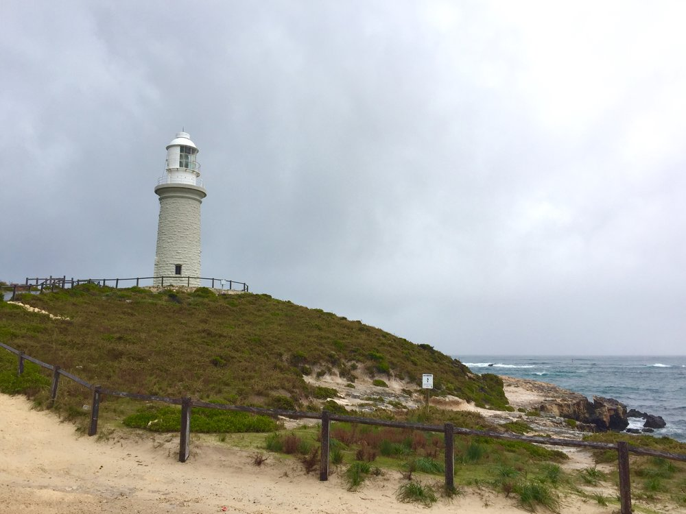 A Rottnest lighthouse