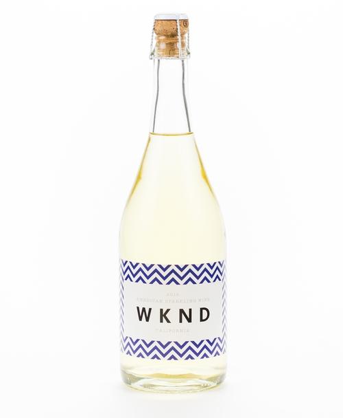 WKND sparkling wine