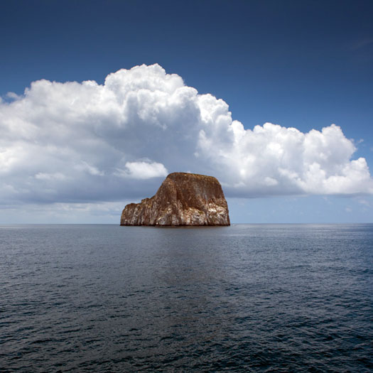 Galapagos Luxury Cruise: Kicker Rock / Leon Dormido Snorkeling is excellent here. (Weston Walker)