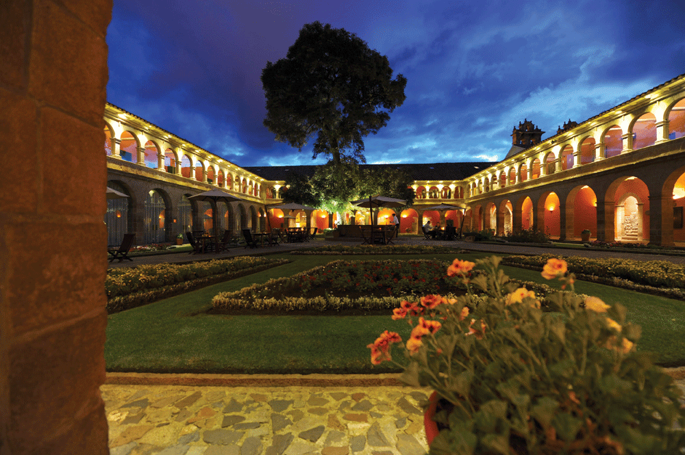 Main Courtyard by Night