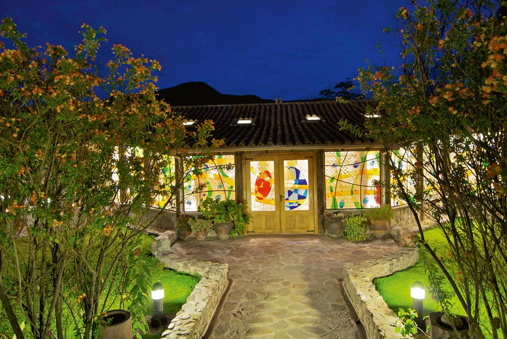 Yacu Wasi Spa Entrance