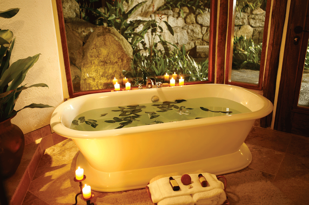 Villa soaking tub