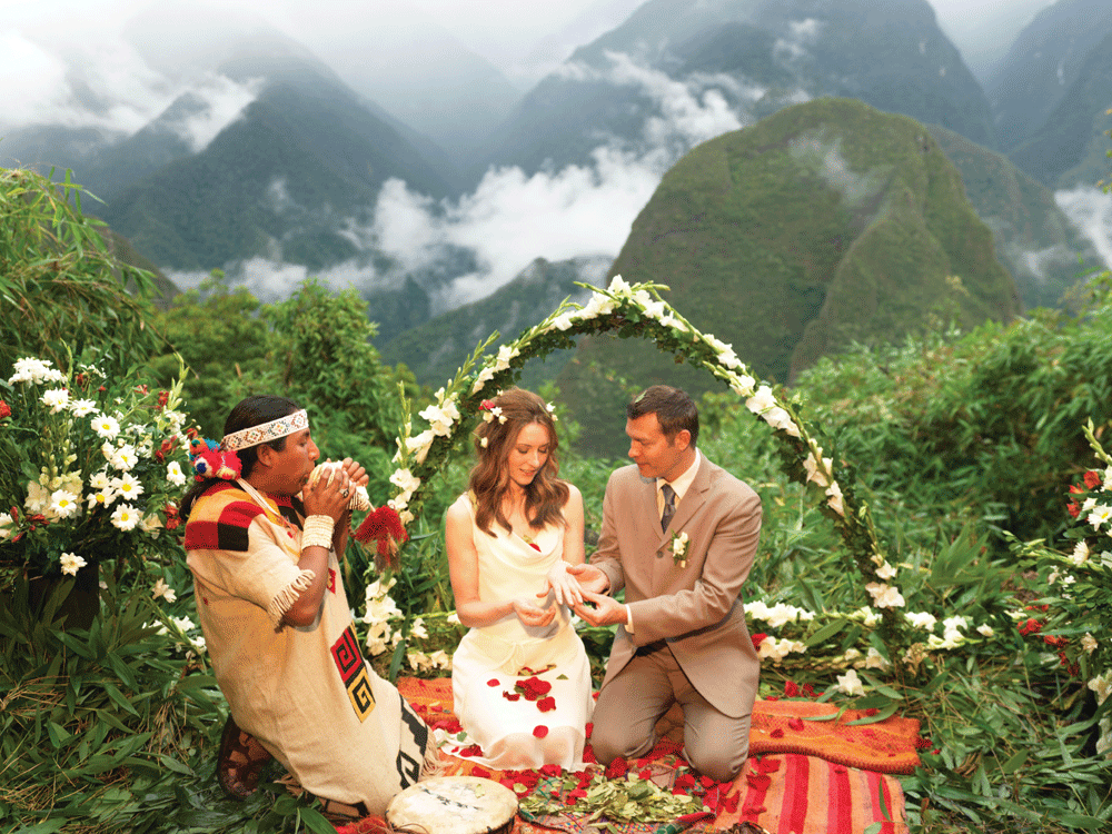 Andean Marriage Ceremony