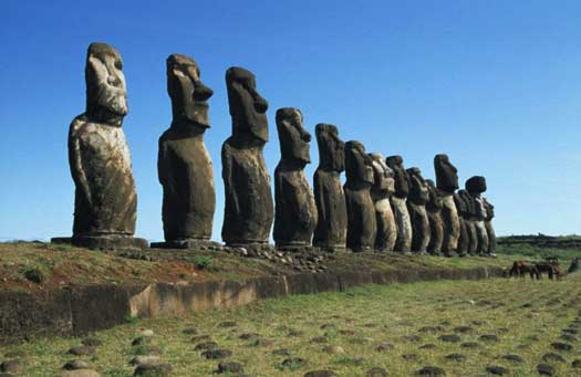 Rapa Nui Moai (photo: Explora)