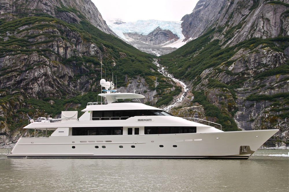 SERENGETI - The renowned yacht of Johnny Carson.