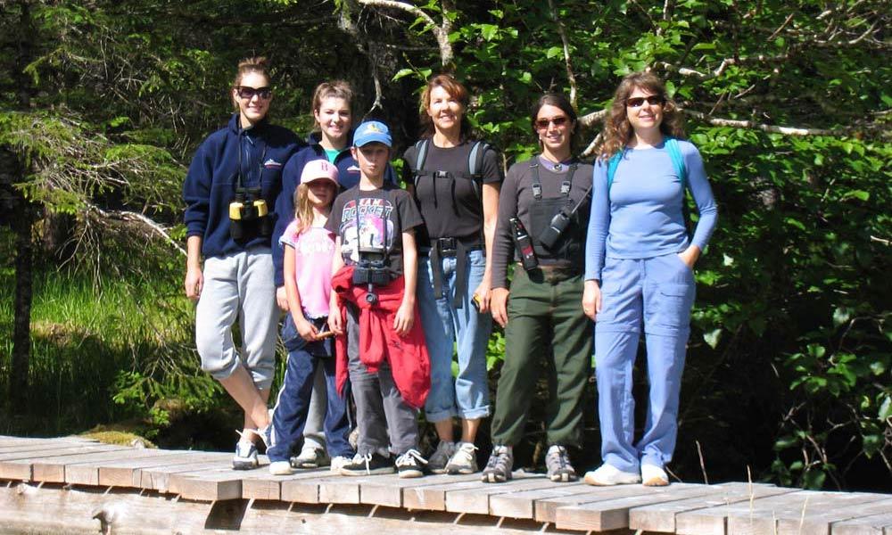 Alaska with the family