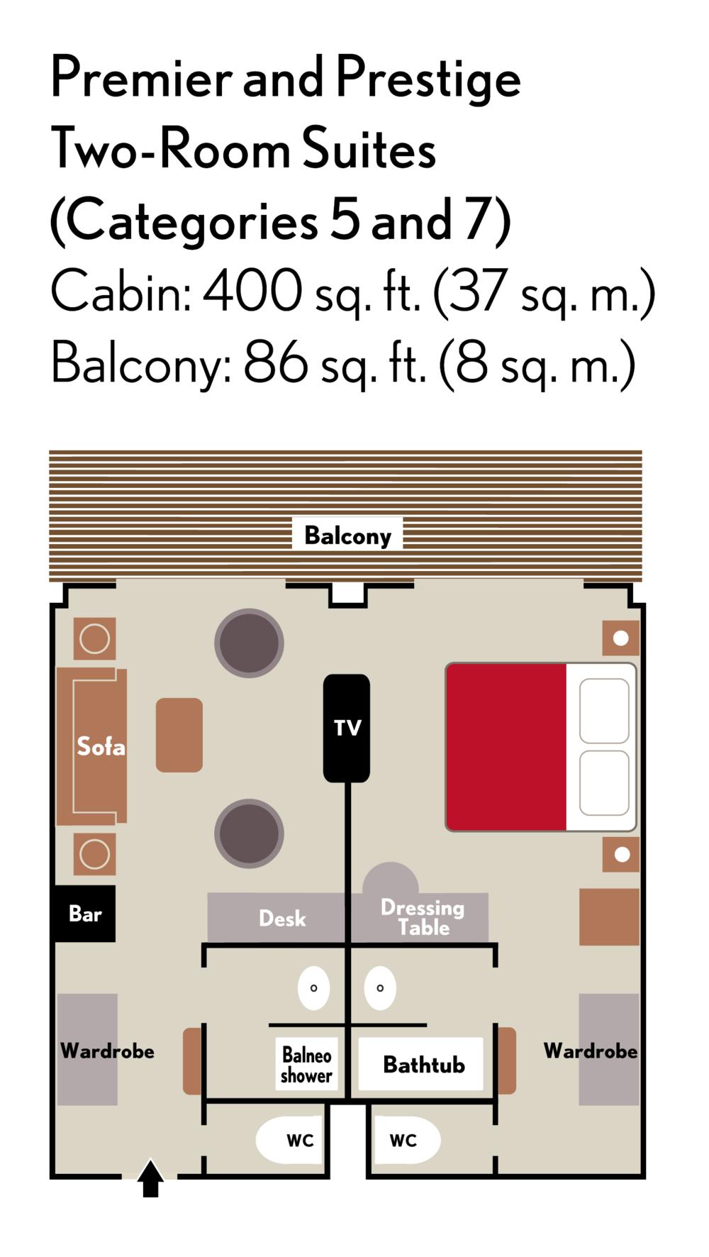 2-Room Suites