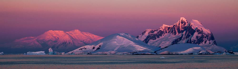 Antarctic Landscape.  Photo: Ira Meyer
