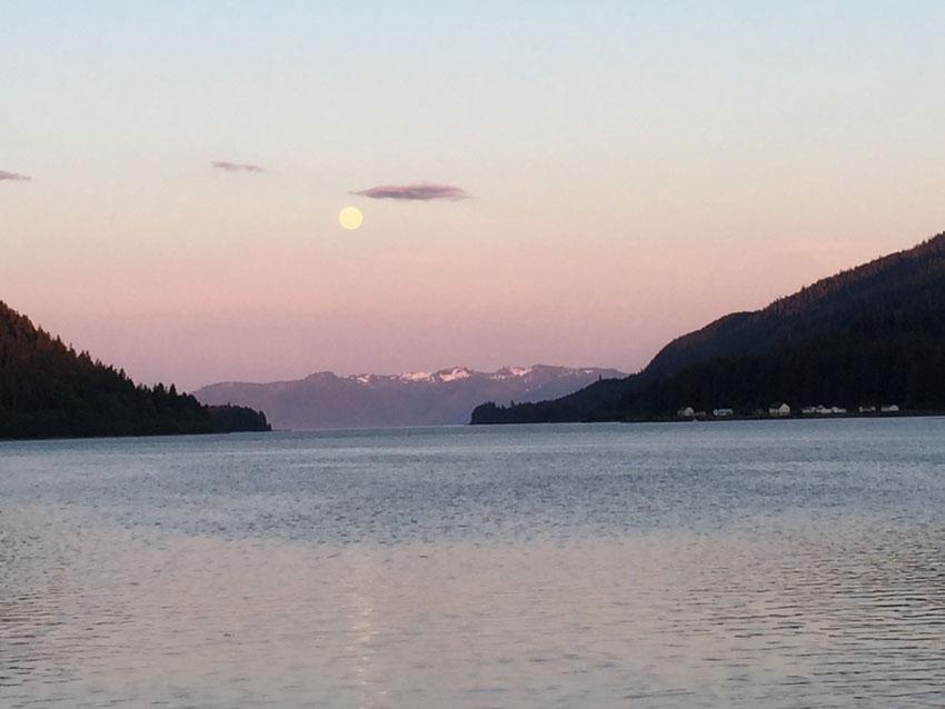 Full Moon over Peril Strait