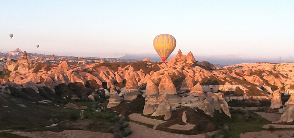 Meredith Pillon recently returned from one of our Turkey adventures. She offers a guest perspective on her experiences in Cappadocia