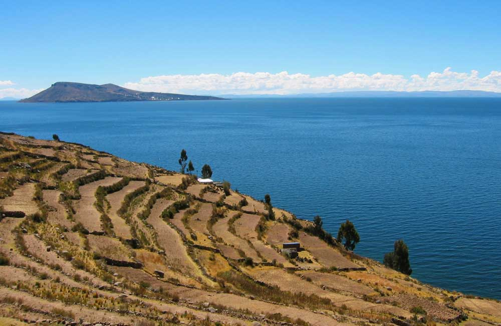 Lake Titicaca: highest navigable lake in the world.