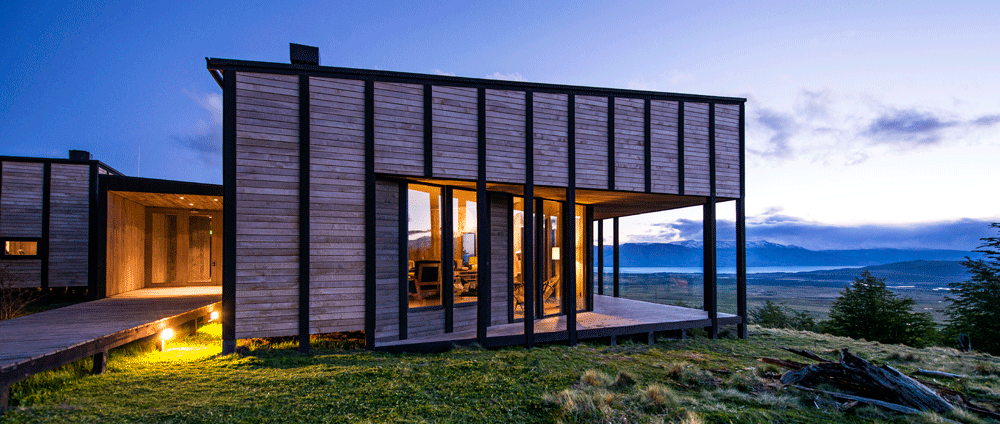 Awasi Patagonia Lodge, overlooking Lake Sarmiento and Torres del Paine National Park