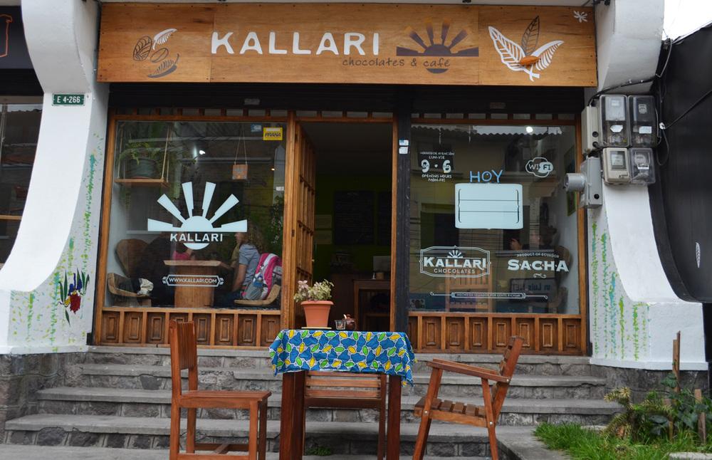 Kallari Café, Quito.
