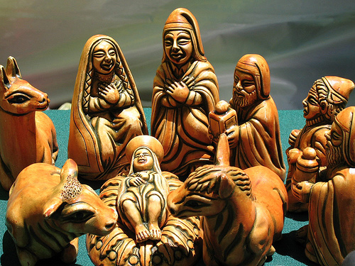 Traditional Cusqueño pesebre. Photo: Cuscofestividades