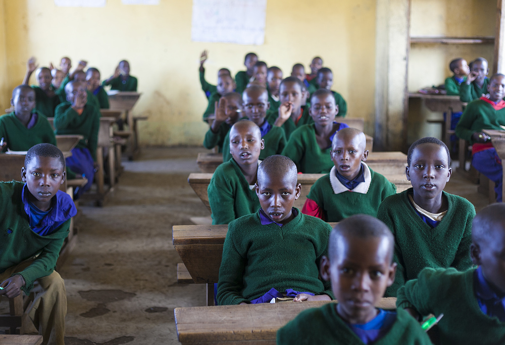 Masai primary school near Mysigio Camp