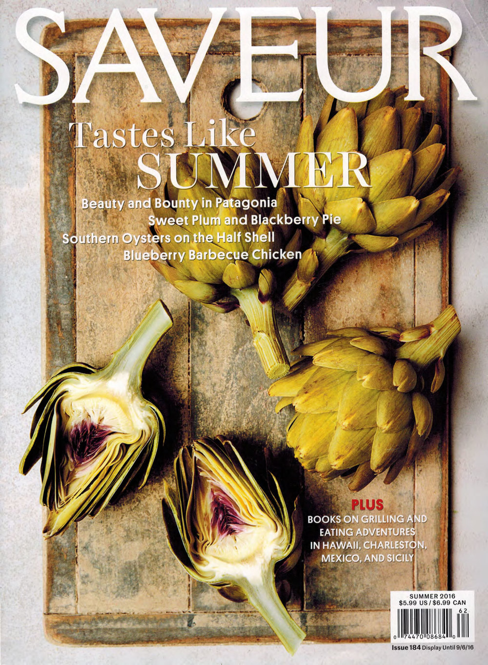 Saveur Magazine feature on Patagonia