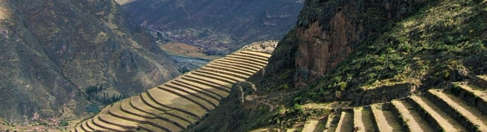 Terraces above Urubamba Valley