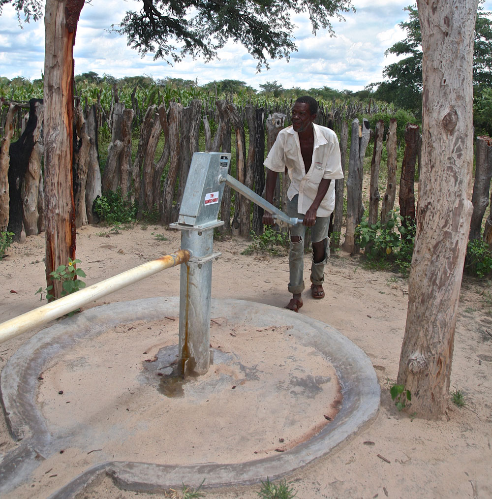 New village well