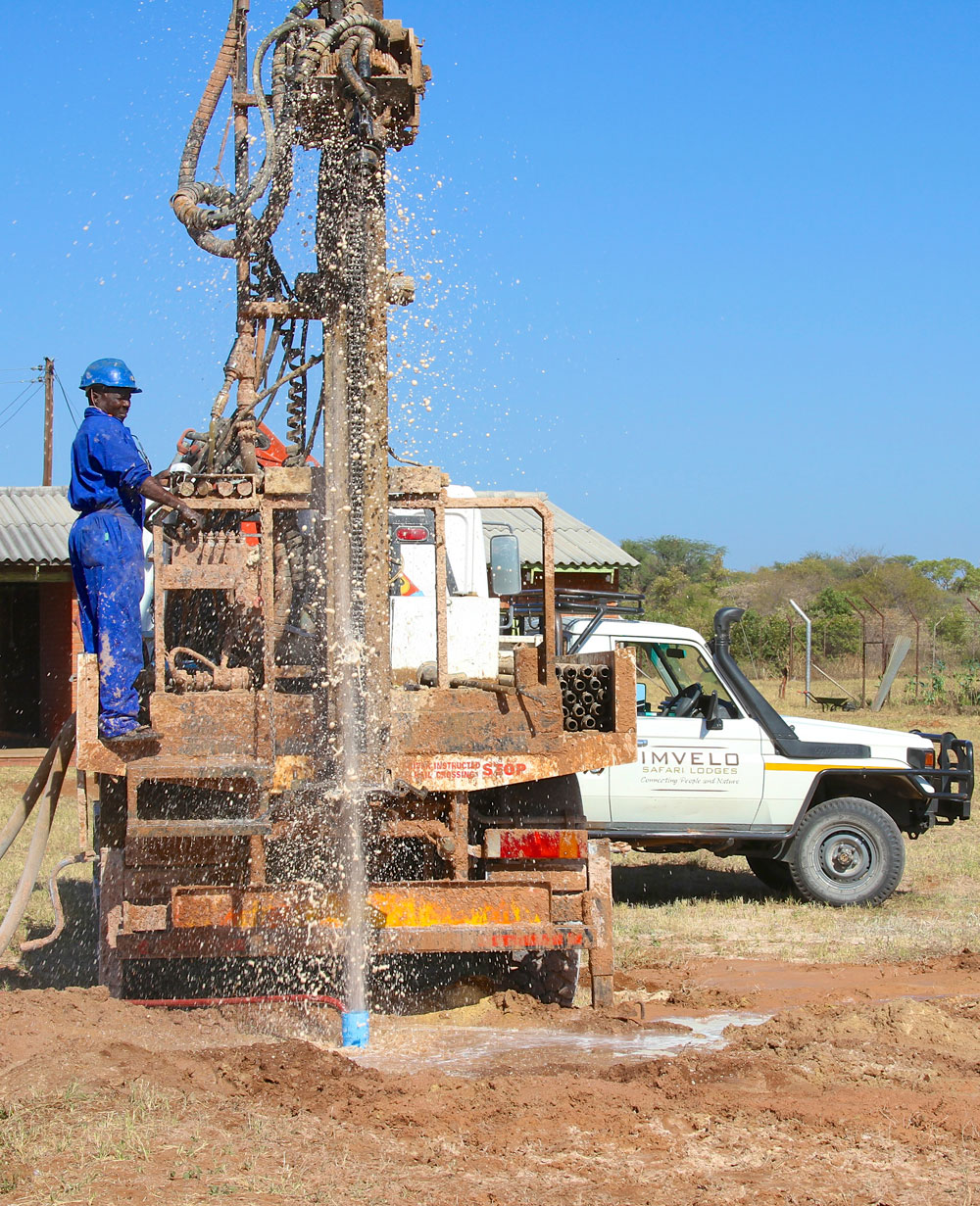 New well at Sipepa Clinic