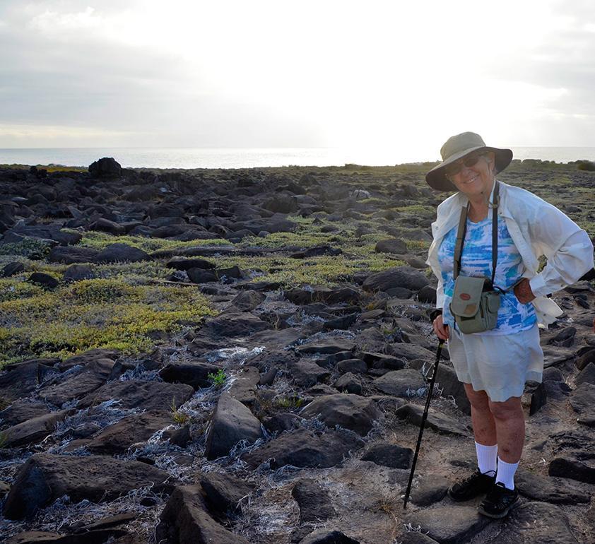 Phyllis on Espanola Island, 2016
