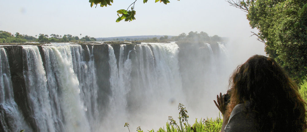 Day 2 - Vist Victoria Falls, Transfer to Camelthorn Lodge