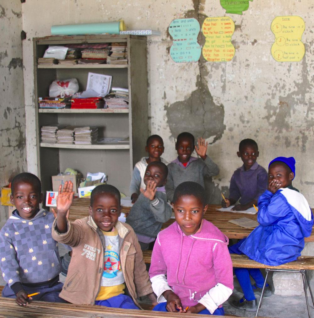 Mlevu School, old classroom