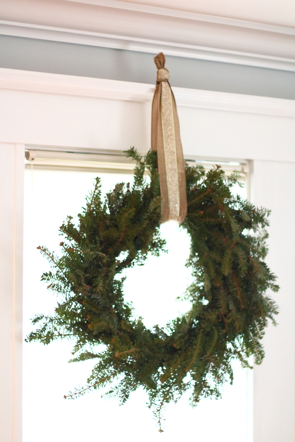 Who ever said a wreath had to go outside? Switch it up and bring it indoors so you can enjoy it!