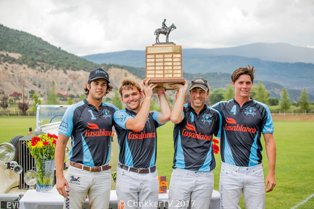 Casablanca Wins Basalt Handicap - All Four Players Share MVP Honors