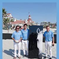 Last year's champions Tincho Merlos, Juancito Bollini and Grant Ganzi of Aspen Valley Polo Club.