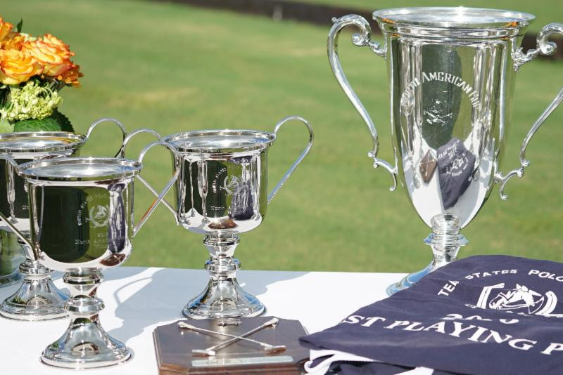 The coveted USPA North American Cup trophy in all its splendor.