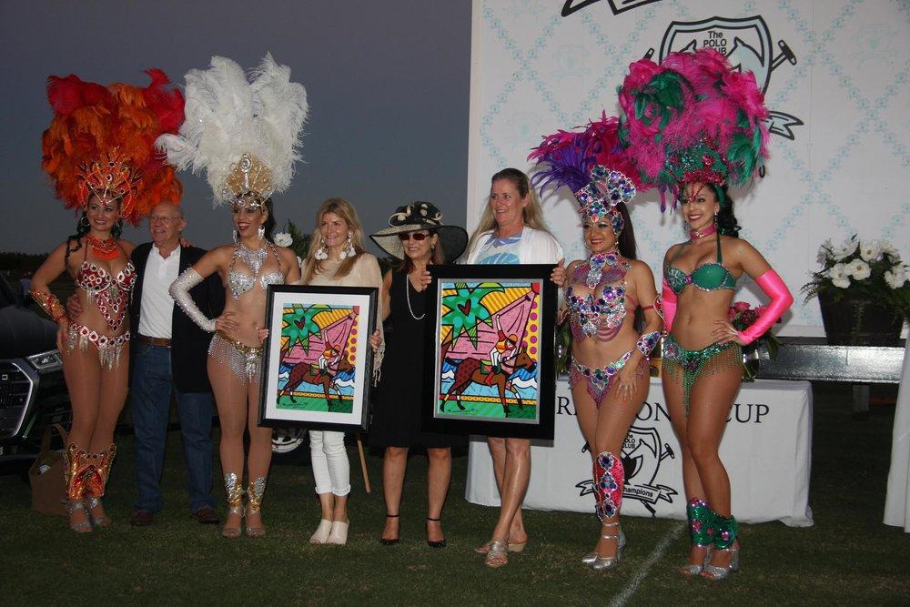 Auction winners Olexa Celine and Kim.SA.jpg