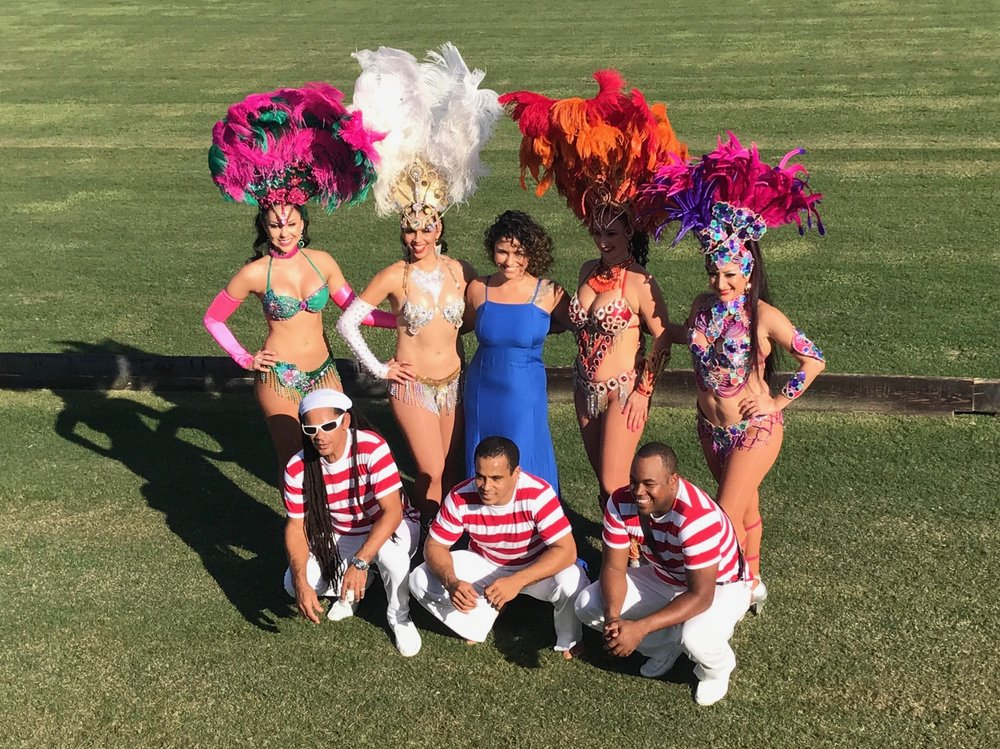 The entertaining Brazilian troupe o.JPG