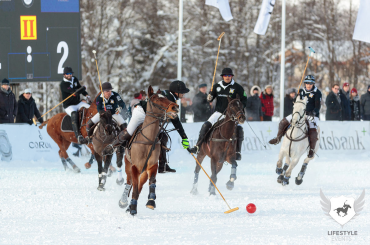 With a top field of teams, snow polo action will be fast and furious.