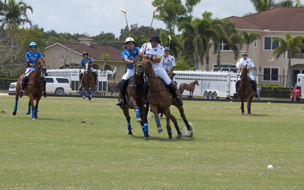 Mariano Obregon of Skaneateles rides off .JPG