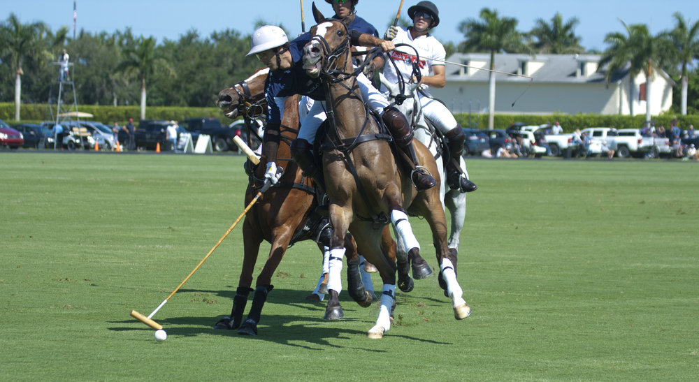 Juan Martin Nero of U.S. Polo Assn. controls.JPG
