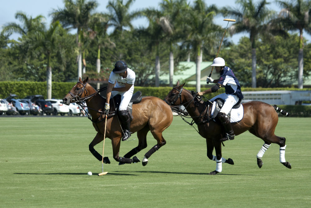 Juan Martin Nero of U.S. Polo Assn. defends.JPG