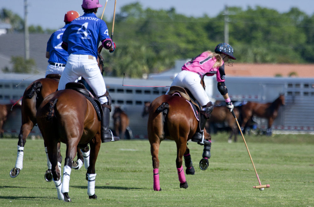 MVP Ashley Busch of Altair Polo going for one .JPG