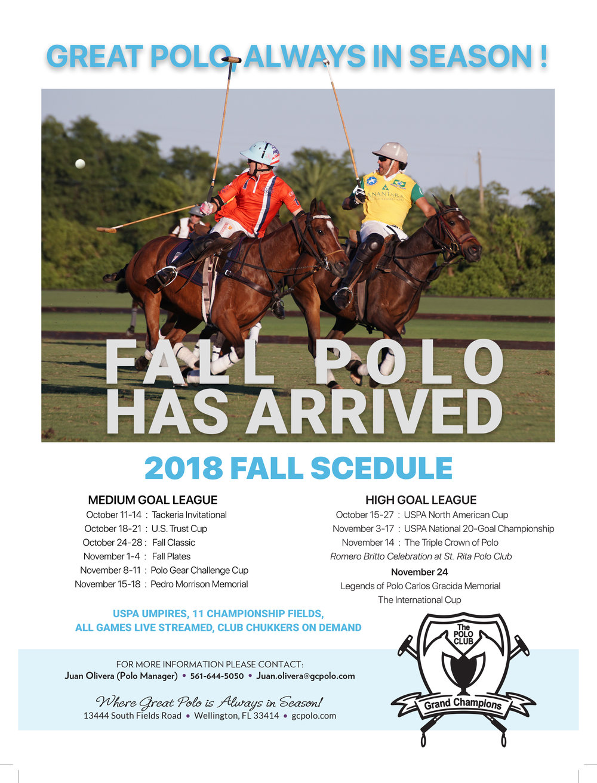 GCPC Fall Polo 2018