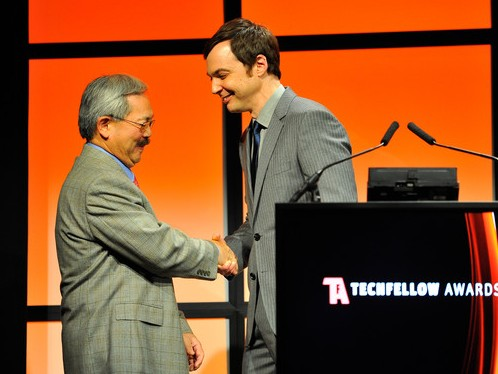 Mayor Ed Lee Jim Parsons Tech Fellow Awards