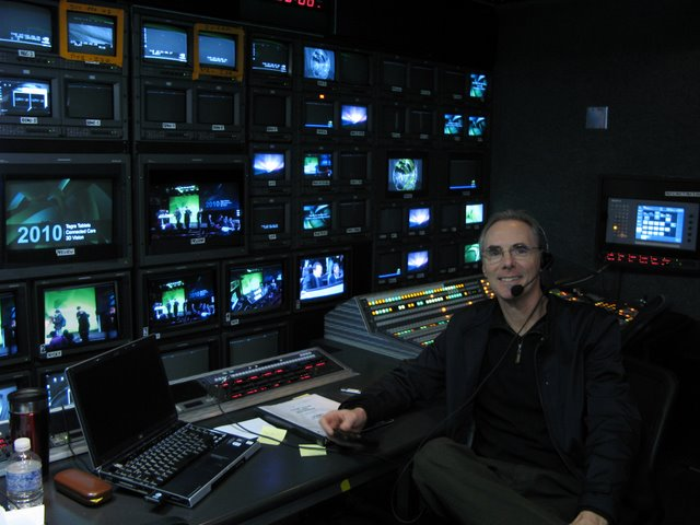 Jim in Touring Video Truck