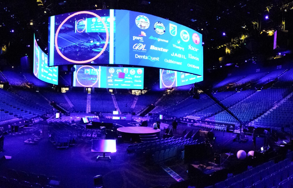 Cisco GSX during rehearsals