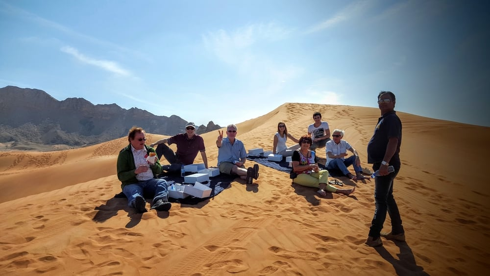 Picnic in the Desert