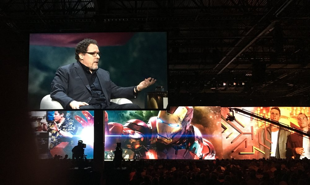 John Favreau at Adobe Max